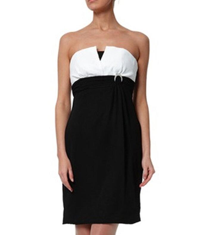 Robe noire et blanche Faust - BrandAlley