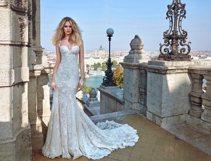 Image: Galia Lahav Ivory Tower Haute Couture Collection, dress 1605 Gwen