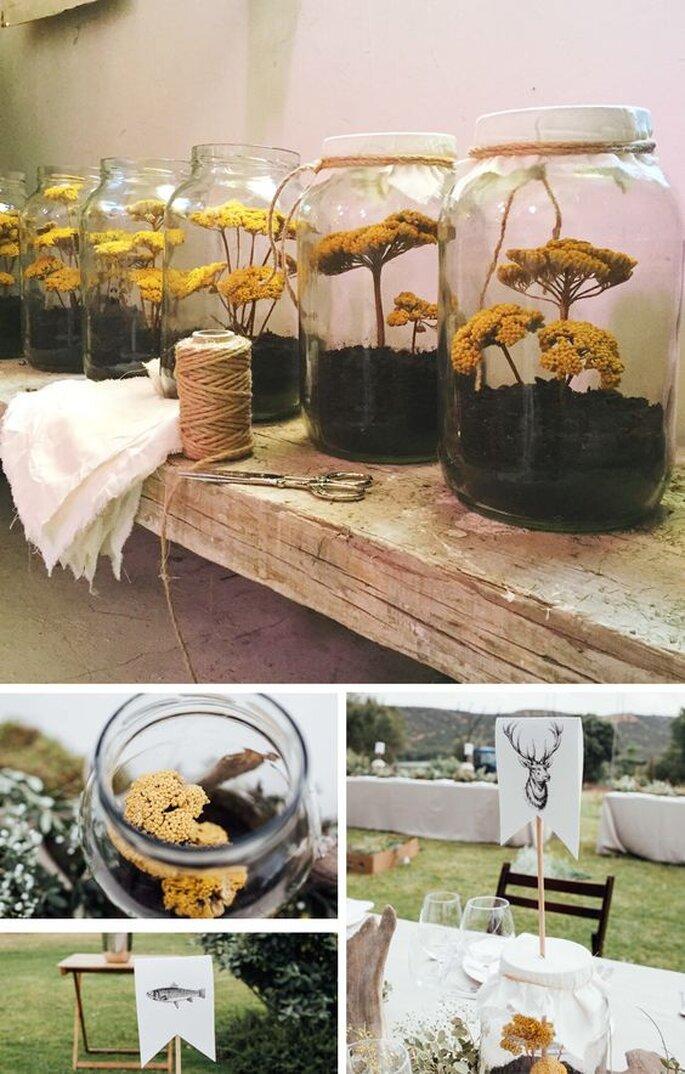 flores en botes cordero atelier