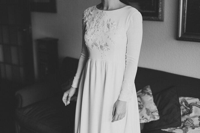 retrato de un instante vestido de marcela mansergas
