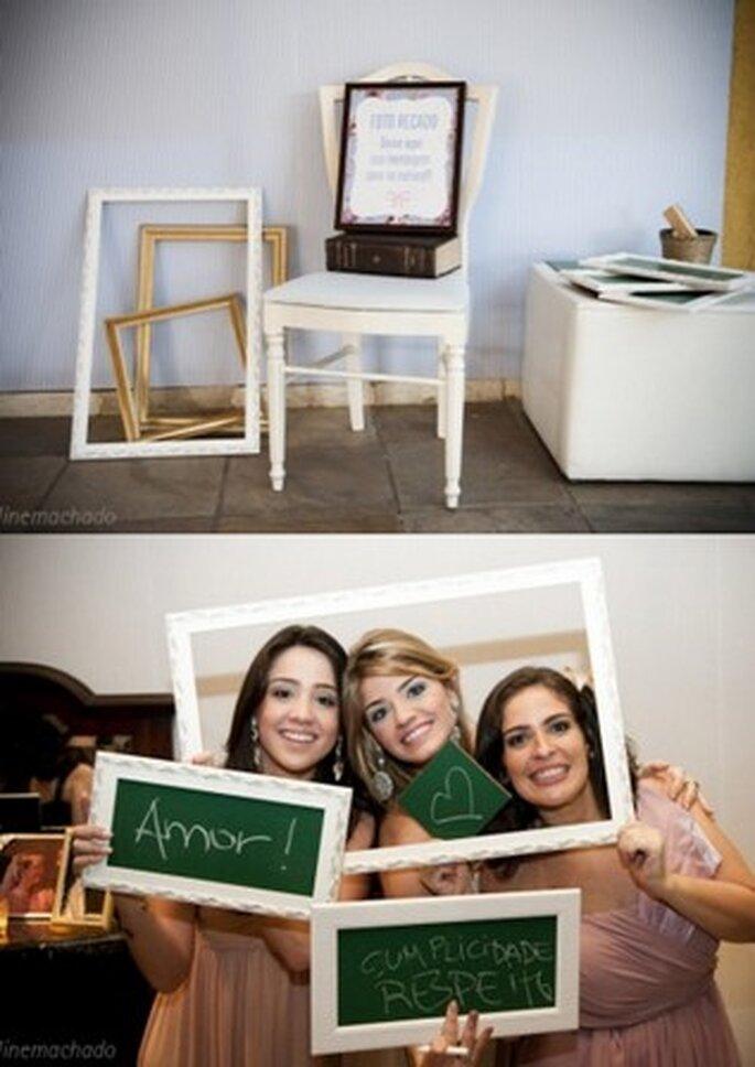 Uma das tendências para casamentos em 2011 - Foto recado