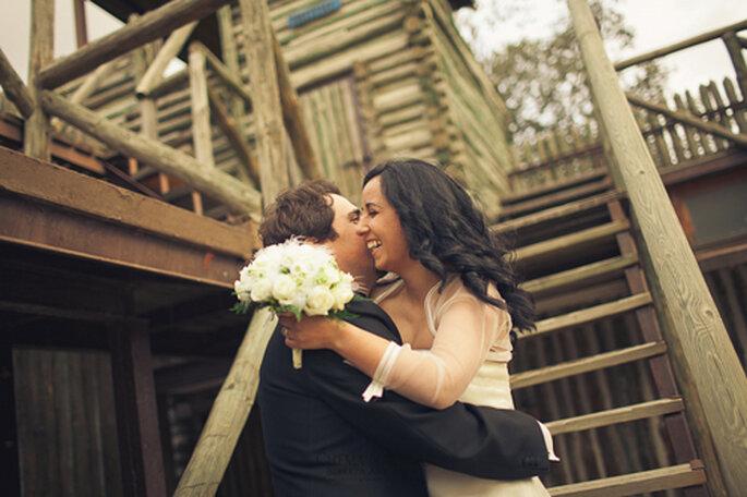 fotos de boda, boda en un embarcadero