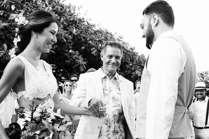 foto entrada da noiva