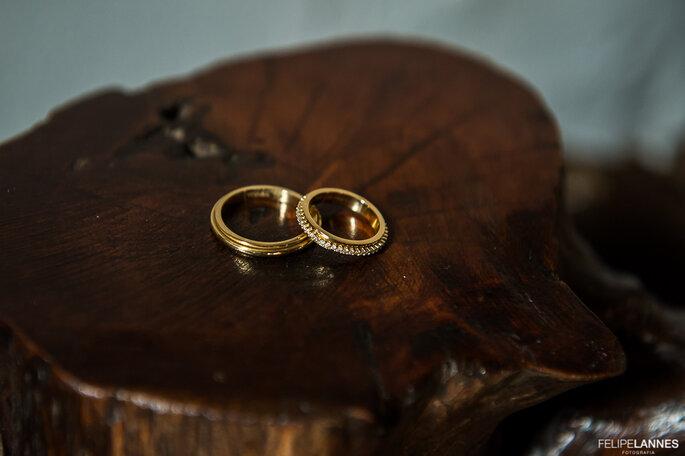 Alianças noivos