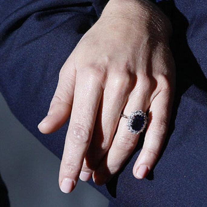 Anillos de compromiso de las famosas - Foto: Garrard Joyeros