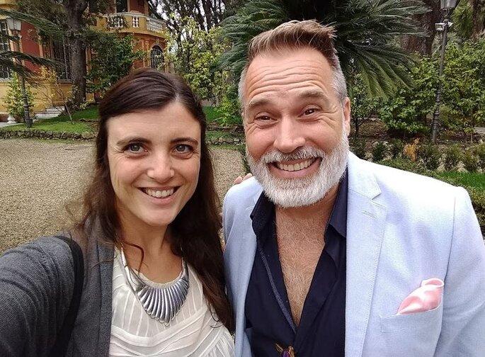 Non poteva mancare un selfie con il mitico Froonck
