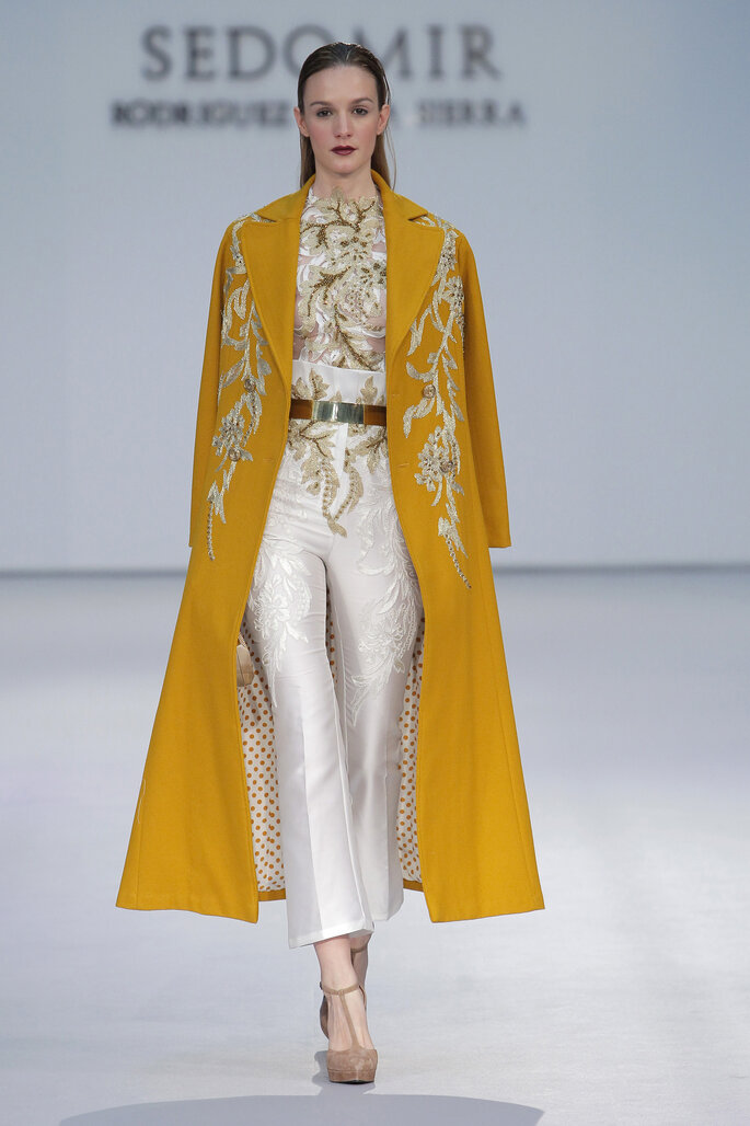 Sedomir Rodriguez, Pasarela Costura España.