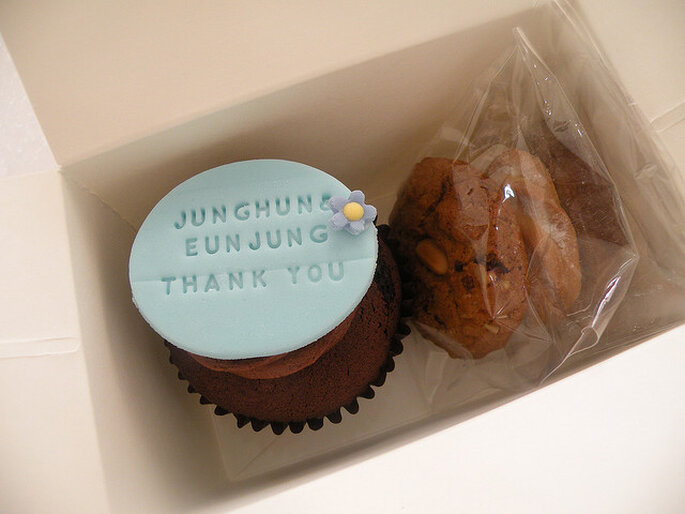 Cupcake de regalo. Foto: Kim Hyeyoung