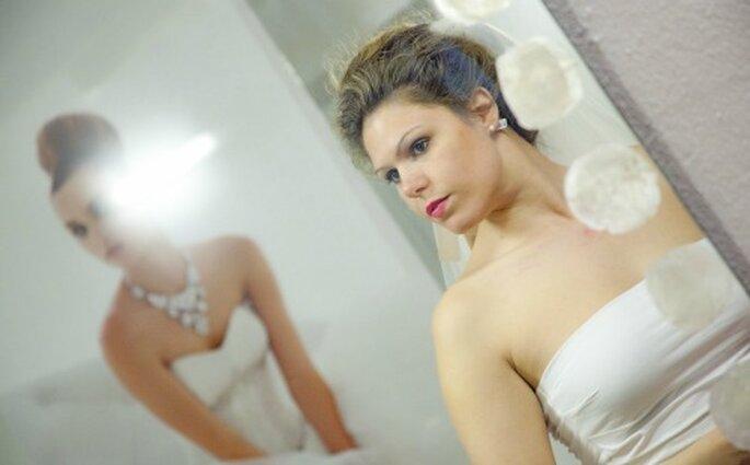 Reggiseno a fascia per la prova – Foto Spose & Stile Atelier