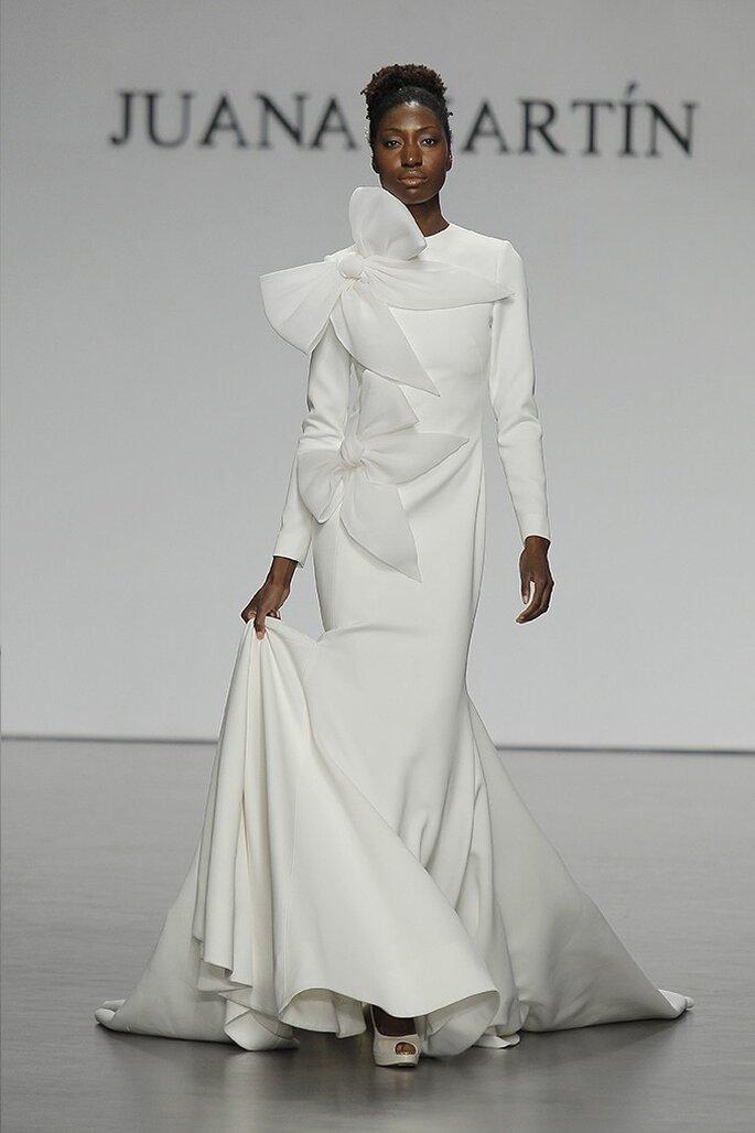 Vestido: Juana Martín Foto: Costura España