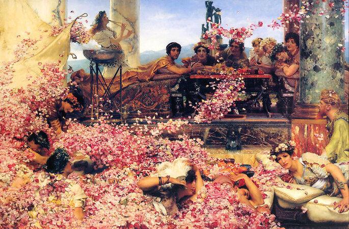 Le tableau de Lawrence Alma-Tadema a largement inspiré la collection de robes de mariée. Photo: Wikipedia.org