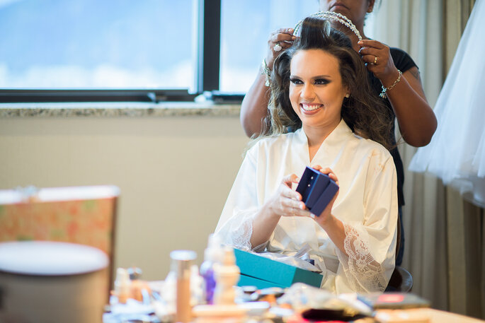Acessórios de cabelo da noiva: Patricia Lacerda