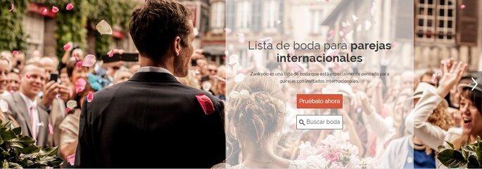 Lista de boda para parejas internacionales