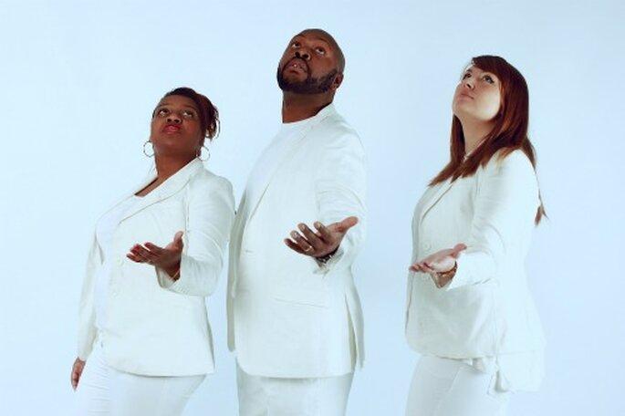 Chorale de gospel : un bonne idée pour personnaliser sa cérémonie de mariage. - Photo : Gospellicious
