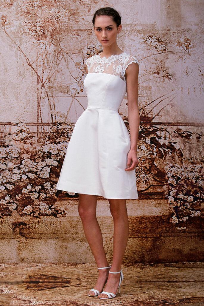 Vestido de novia Lucille de Monique Lhuillier - Colección otoño-invierno 2014. Foto: www.moniquelhuillier.com