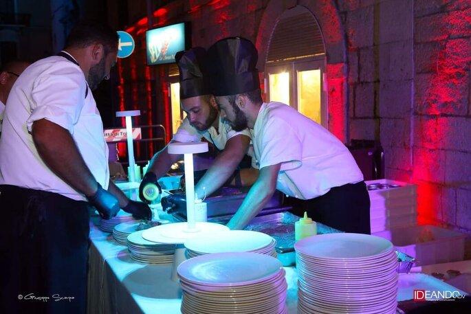 Giuvida Luxury Events - servizio catering