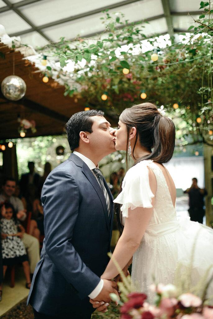 cerimônia noivos