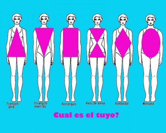 Escoge un vestido de acuerdo a tu tipo de cuerpo.