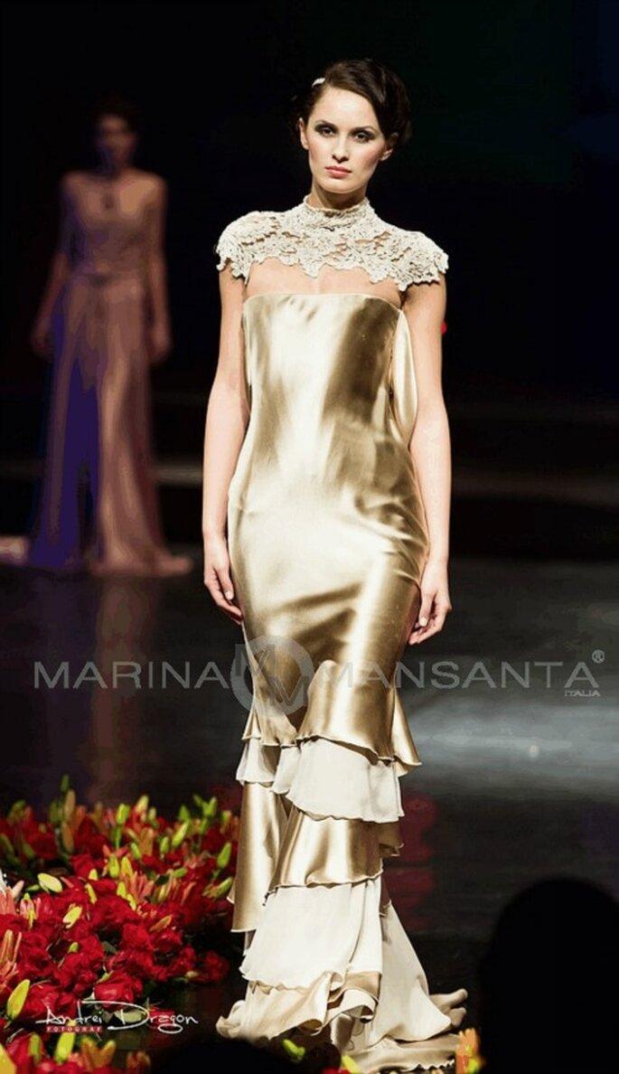 Modello 'Goccia' di Marina Mansanta. Courtesy: Ufficio Stampa marinamansanta.com