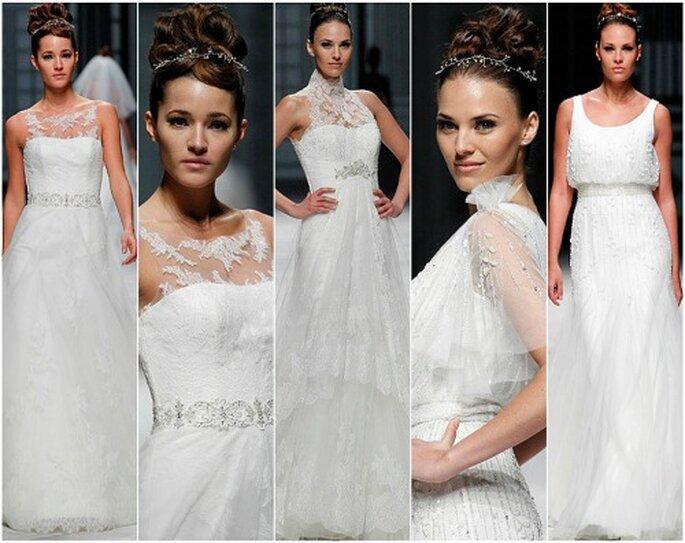 Una selezione di abiti La Sposa 2013. Foto: La Sposa