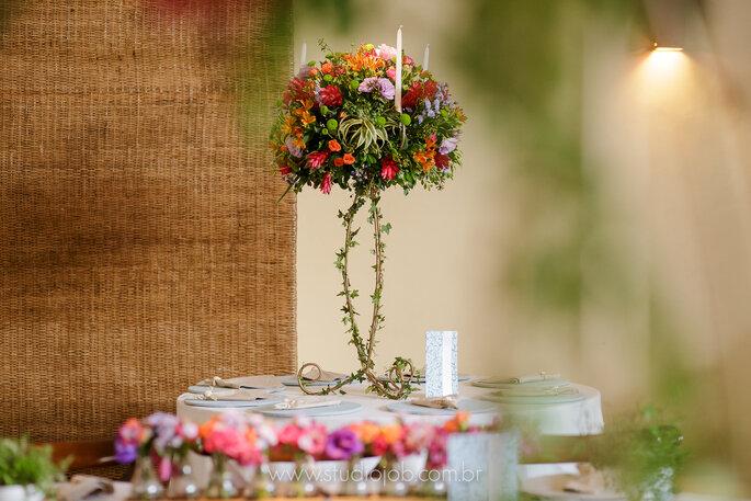 Flores para casamento na praia