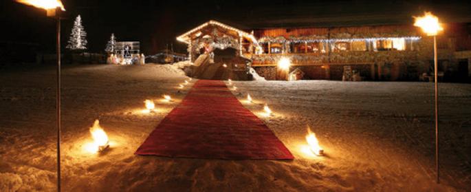 Mariage en hiver : des lieux magiques et magnifiés ! - (C) Le Figaro Madame