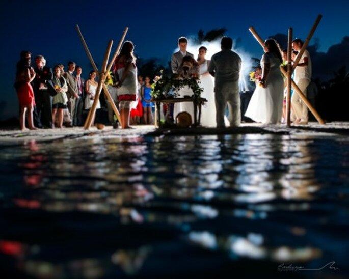 Todos los elementos de la boda Shamanica Maya tienen mucho significado - Foto Rodrigo del Río