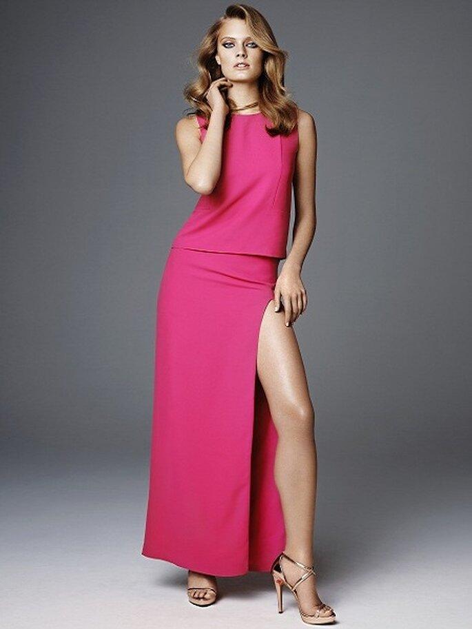 Este vestido es una opción para la boda de tarde. Foto: H&M
