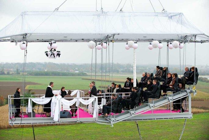 Foto: Weddings Vacations - Dinner In The Sky