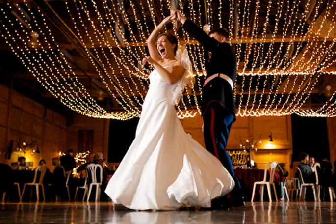 El primer baile de los novios es el inicio de una celebración inolvidable