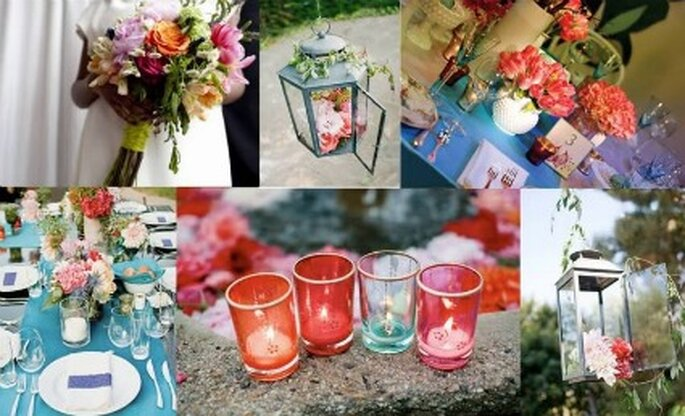 El triunfo de los colores para la boda rusa - Fotografía: trendinozze.blogspot