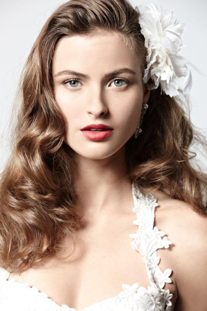 Wellige Frisuren Fur Hochzeitsgaste Styling Tipps