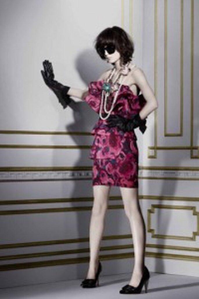 Kleid in Fuchsia von Lanvin für H & M