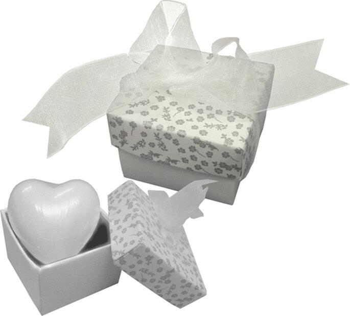 Original regalo de jabón con forma de corazón
