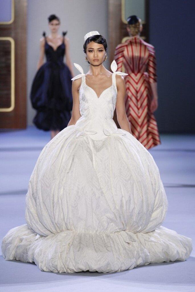 Los vestidos de novia alta costura que nos robaron el aliento este 2014 - Foto Ulyana Sergeenko