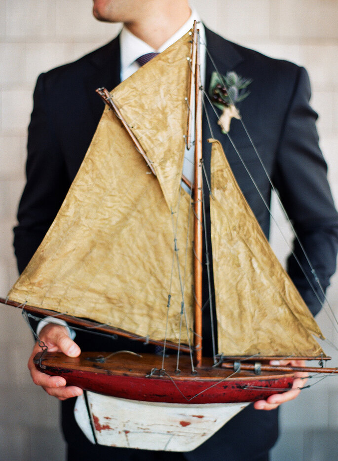 Detalles para una boda náutica - Clayton Austin