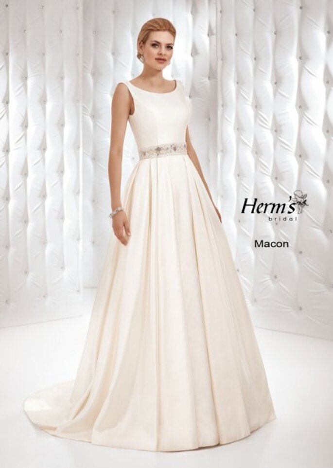 Elegancka suknia ślubna Macon