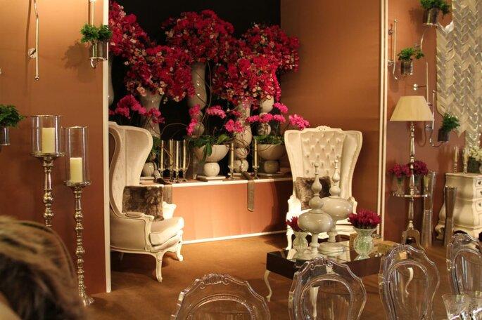 decoração lounge casamento