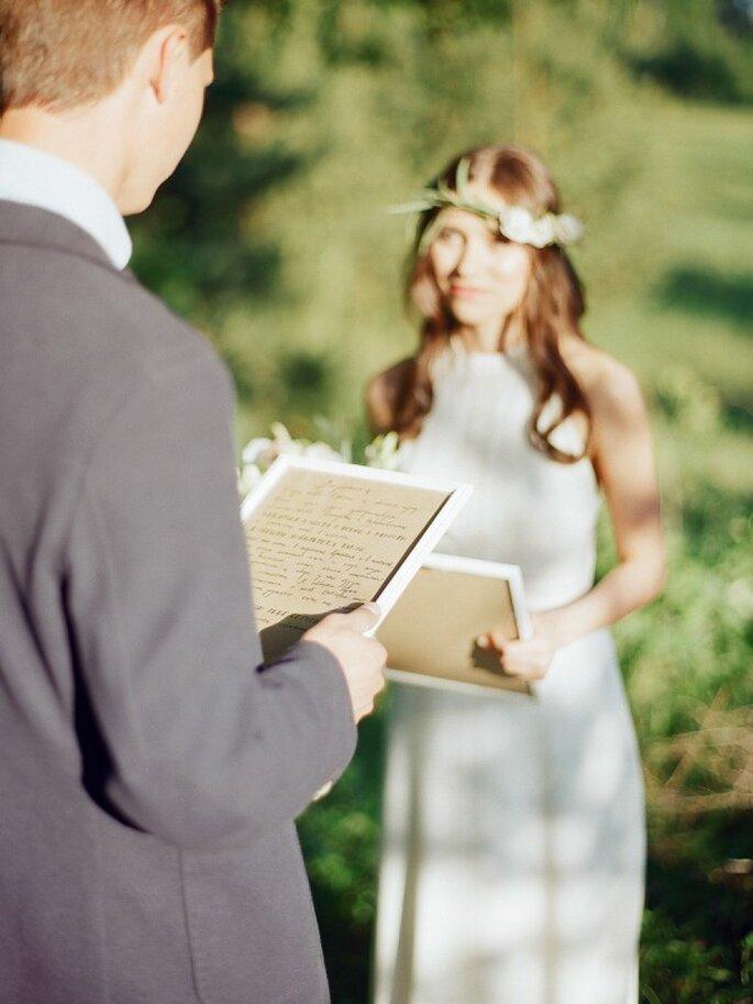 Inspiración basada en la magia del blanco para tu boda - Foto Alina Valitova