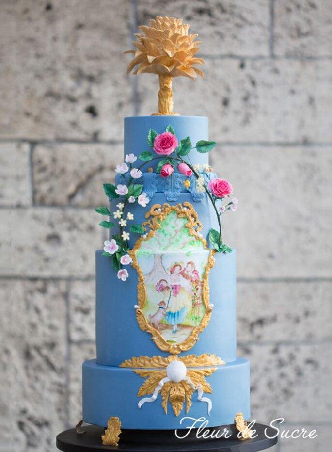 Torte von Fleur de Sucre