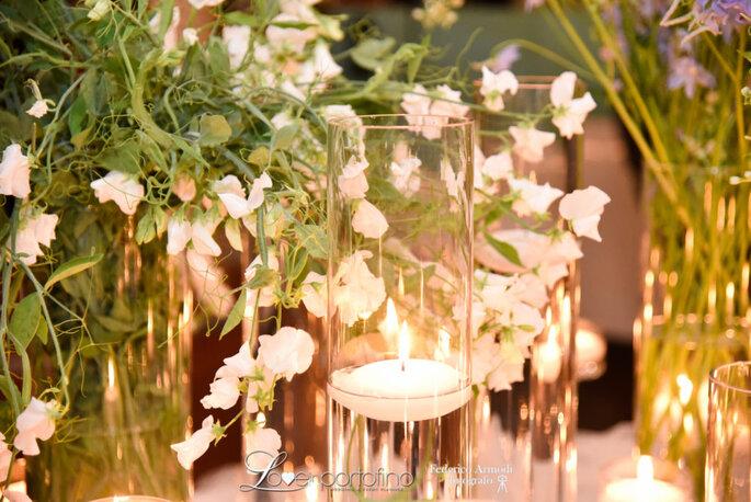 Gli allestimenti floreali della flower designer Maria Grazia Rizzotti