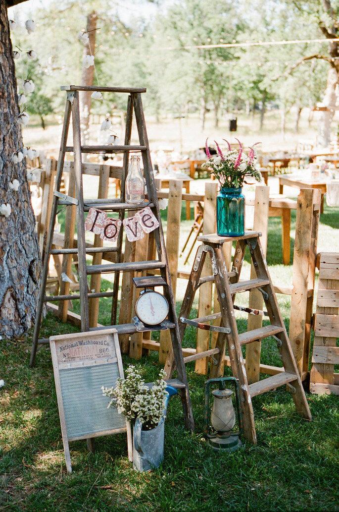 5 ideas innovadoras para decorar tu boda. Foto- Lane Dittoe Photography