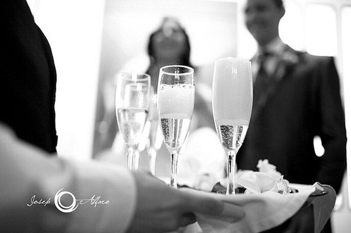 Tolle Kreationen für den Sektempfang auf der Hochzeit