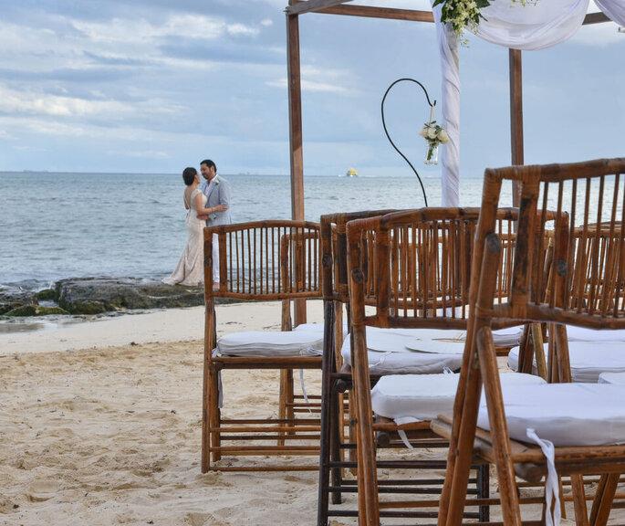 Inti Beach Club & Restaurant bodas en la playa Playa del Carmen