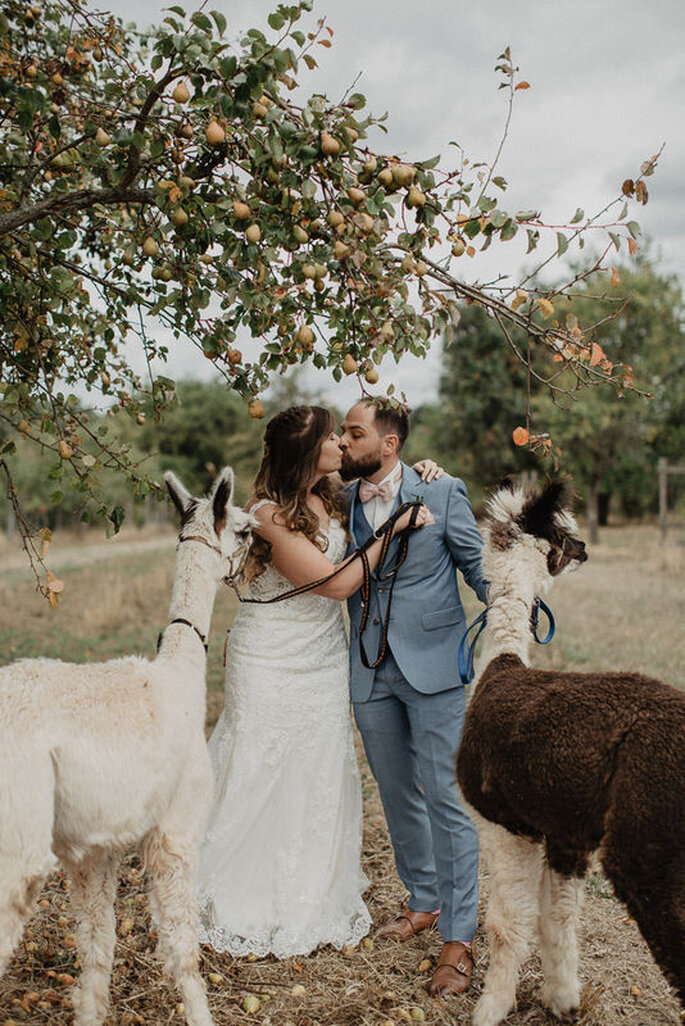 Paarshooting kreative Hochzeitsfotografie