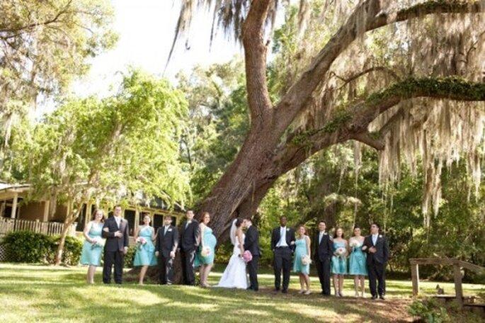 Sólo con al mesa de regalos Zankyou tendrás una boda perfecta de principio a fin- Foto Ashley Daniell Photography