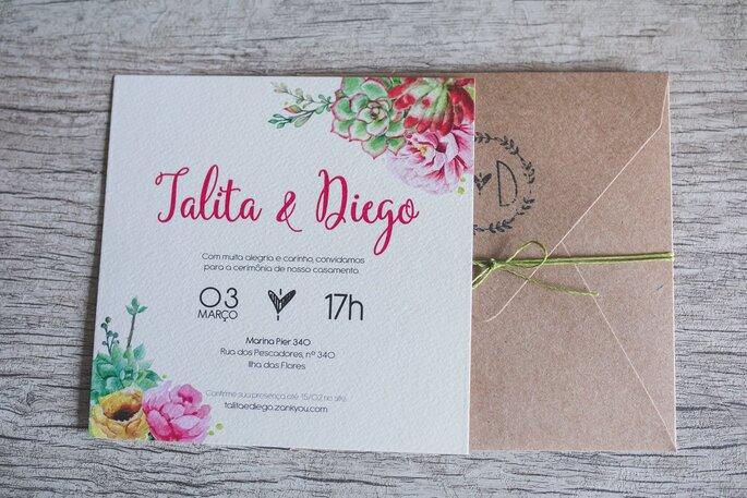 Convite: Noiva - Alecrim Designs - Foto: GabiVerfe Fotografia