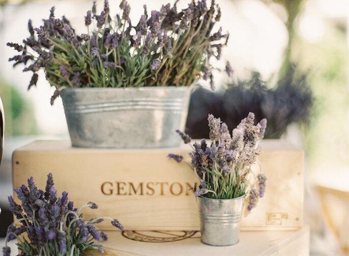Detalles súper originales diseñados con flor de lavanda - Jessica Burke