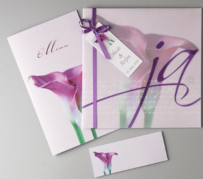 """Hochzeitskartenset """"Sara"""" von weddix"""