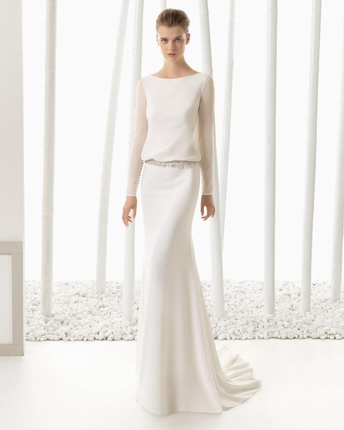 Foto y vestido: Rosa Clará